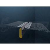Profil dylatacyjny prosty z siatką 2,0m