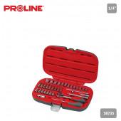 Pro zestaw nasadek 35szt CRV Proline