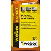 Weber Expert zaprawa tynkarska 25kg