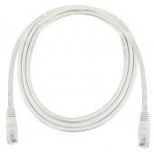 Kabel Patch Cat5E UTP PVC 1m szary
