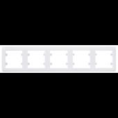 Lumina2 ramka 5-krotna pionowa biała