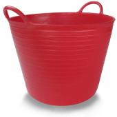 Kosz plastikowy czerwony nr 1 25l