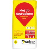 Weber Uni S zaprawa klejąco-szpachlowa do styropianu 25kg