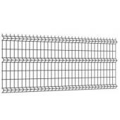 Panel ogrodzeniowy 3D 150x250cm oczko 55x200mm fi4mm grafit