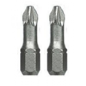 Końcówki 1/4'' PZ1 25mm CrV 2szt. Proline