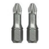 Końcówki 1/4'' PZ2 25mm CrV 2szt. Proline