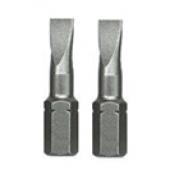 Końcówki 1/4'' płaskie 6,5x25mm CrV 2szt. Proline