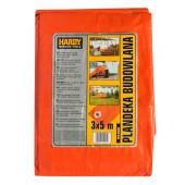 Plandeka 4x5 140g/m pomarańczowa