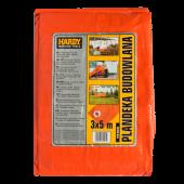 Plandeka 6x10 140g/m pomarańczowa