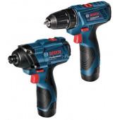 Zestaw GSR 120-LI i GDR 120-LI 2x1,5Ah Professional
