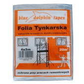 Folia tynkarska 4x5m