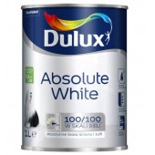 FARBA AKRYL. ABSOLUTE WHITE 1L biały AKN