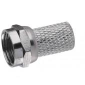 Wtyczka F 5,0/6,5 do kabla koncentrycznego CB100, CB50