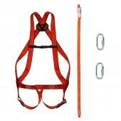 Alpinistyczny zestaw do pracy na wysokości