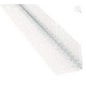 Narożnik aluminiowy z siatką szyty 7x7 długoć 2,5m