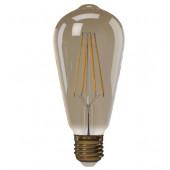 Żarówka LED Vintage ST64 4W E27 ciepła biel+