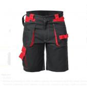Spodenki krótkie L czarno-czerwone