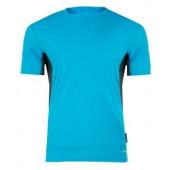 Koszulka funkcyjna 120g/m2 niebiesko-szara 3XL