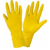 Rękawiczki gospodarcze lateksowe M