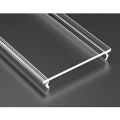 Klosz do profilu Lumines Wide PMMA transparentny 3m