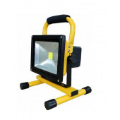 Naświetlacz Led akumulatorowy 20W czarny/żółty
