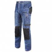 Spodnie jeansowe ze wzmocnieniami. XL