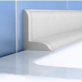 Profil wannowy P56 33x25mm 183cm samoprzylepny biały