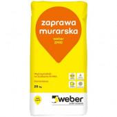 Weber ZM10 cementowa zaprawa murarska 10MPa 25kg