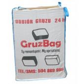 Gruzbag 1m3 z usługą odbioru