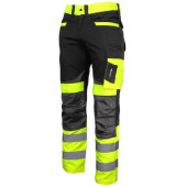 Spodnie ostrzegawcze 3XL czarno-żółte LahtiPro