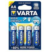 BATERIA ALKALICZNA HIGH ENERGY LR6/AA 4szt