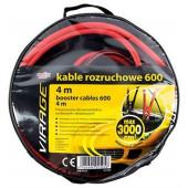 Kable rozruchowe Virage 600A 4m