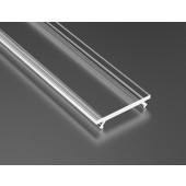 Klosz do profilu Lumines Basic PMMA transparentny 2,02m
