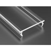 Klosz do profilu Lumines Double PMMA transparentny 3m