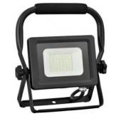 Naświetlacz LED slim 50W z rączką czarny