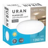Oprawa LED ORO Uran 18W-DW