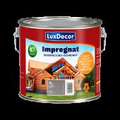 Impregnat do drewna Luxdecor 3l szary