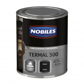 Emalia termoodporna Termal 500 0,7l czarna