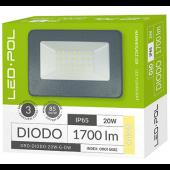 Naświetlacz LED ORO Diodo 20W-G-DW