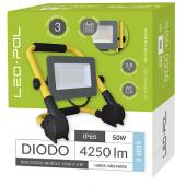 Naświetlacz LED ORO Diodo mobile 50W-G-CW