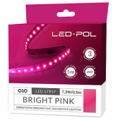 Taśma LED ORO Strip 600L 2835-NWD b.pink