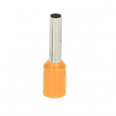 Końcówka tulejkowa izolowana 4mm2 25szt