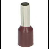 Końcówka tulejkowa izolowana 10mm2 25szt