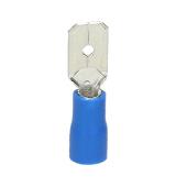 Wsuwka izolowana 2,5mm2 6,3mm 10szt