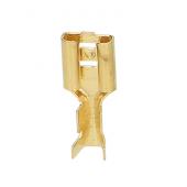 Konektor nieizolowany 1mm2 6,3mm 10szt
