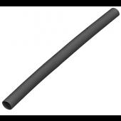 Rurka termokurczliwa 6-3mm czarna 1m