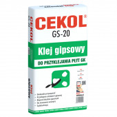 KLEJ GIPSOWY GS-20 20kg CEK