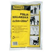 Folia ochronna malarska 4x5m Modeco