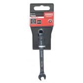Klucz płasko-oczkowy 7mm Cr-V Satin