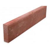OBRZEŻE CHODNIKOWE 6x20x100cm czerwony CRT